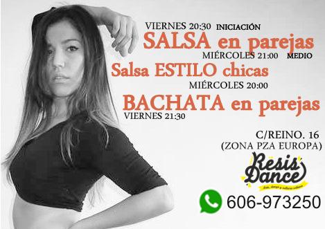 Clases de Salsa Bachata Zaragoza Pza Europa Almozara Aljaferia