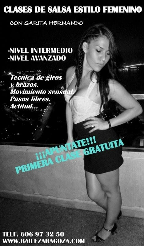 Zaragoza Clases Salsa Estilo Chicas
