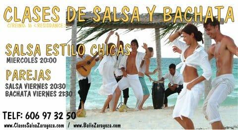 Clases salsa y Bachata en Zaragoza intensivos verano junio julio