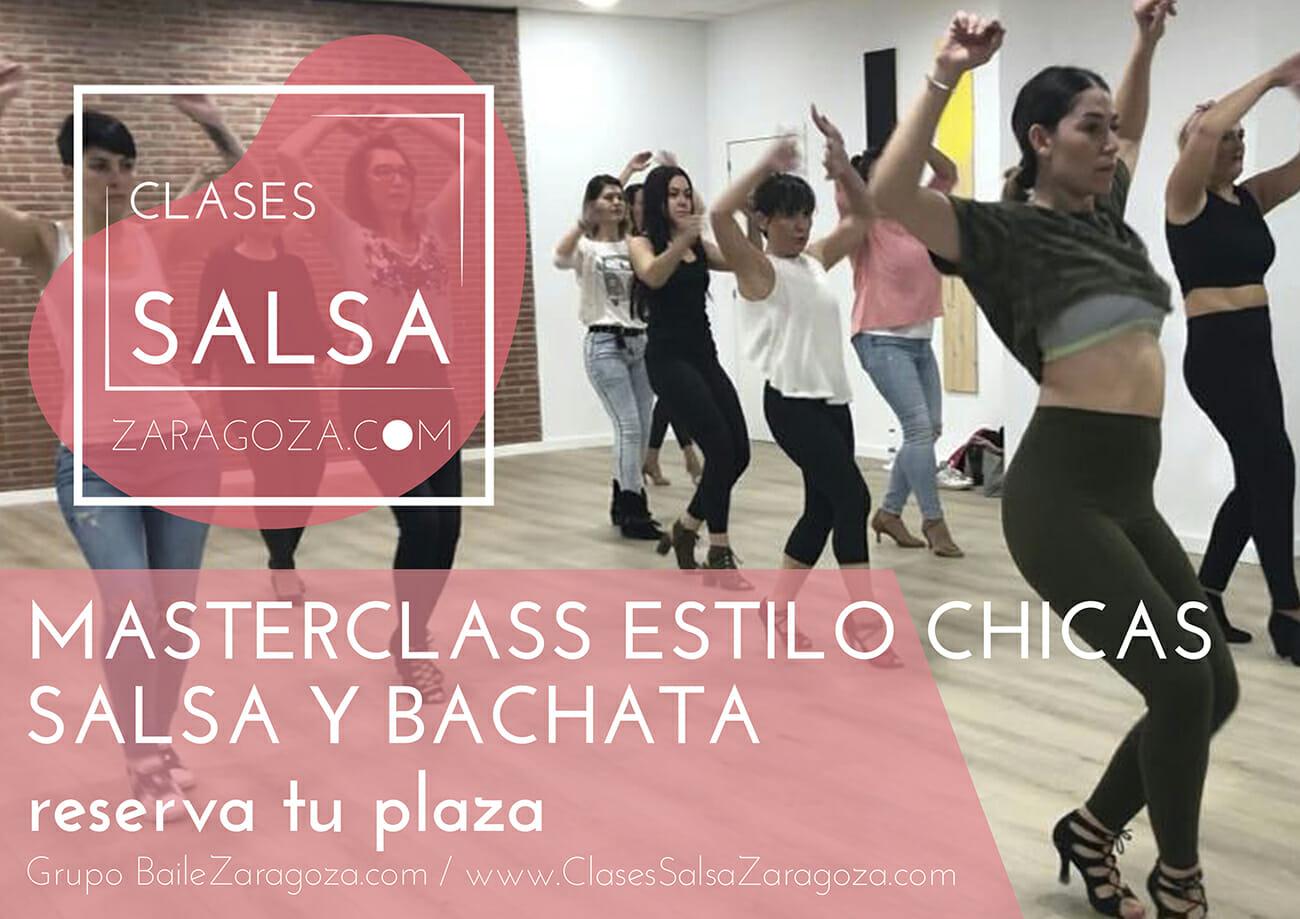 Masterclass Clases salsa bachata estilo chicas sabados